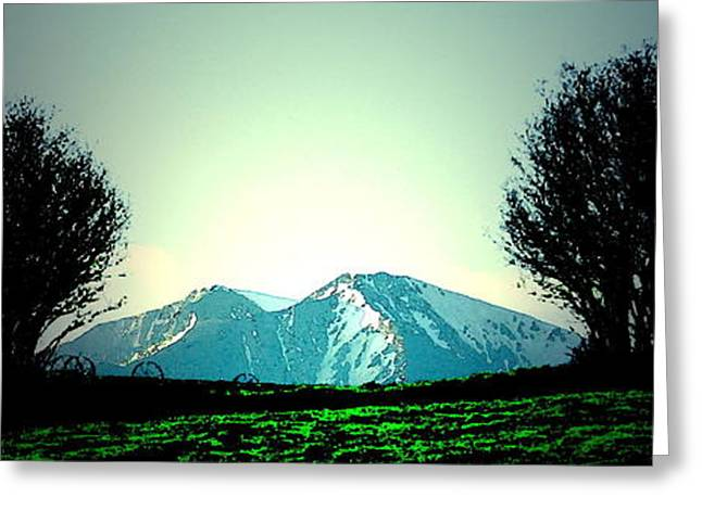 Sopris I Greeting Card