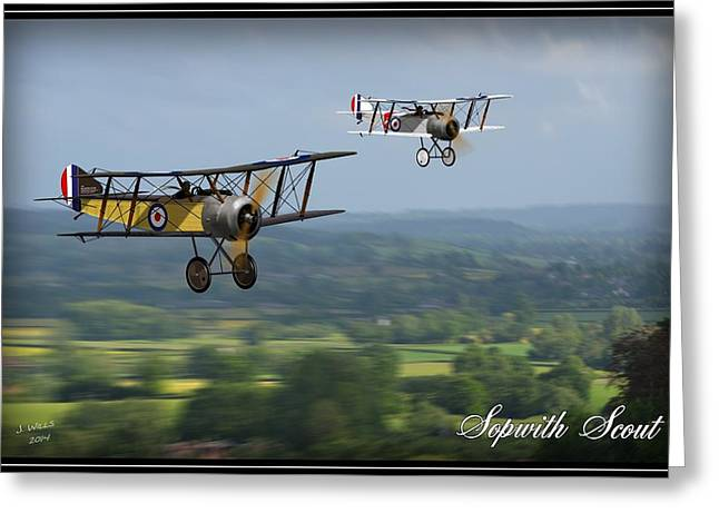 Sopwith Scout 2 Greeting Card