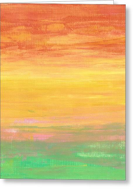 Sorbet Sunset Greeting Card