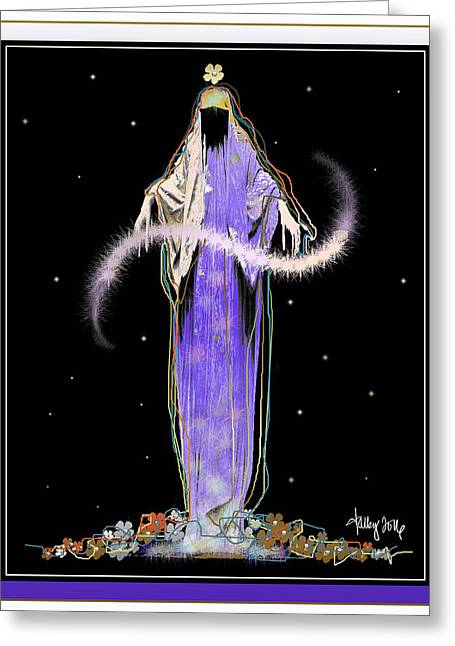 Sorciere  Greeting Card