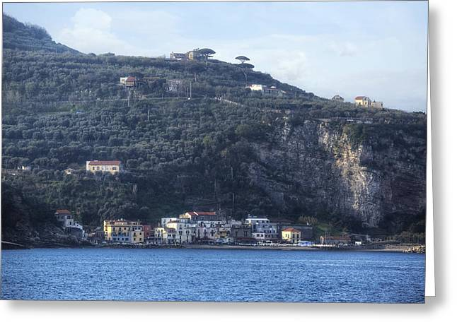 Sorrento - Marina Di Puolo Greeting Card