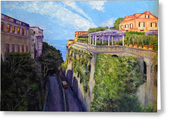 Sorrento Mio Greeting Card
