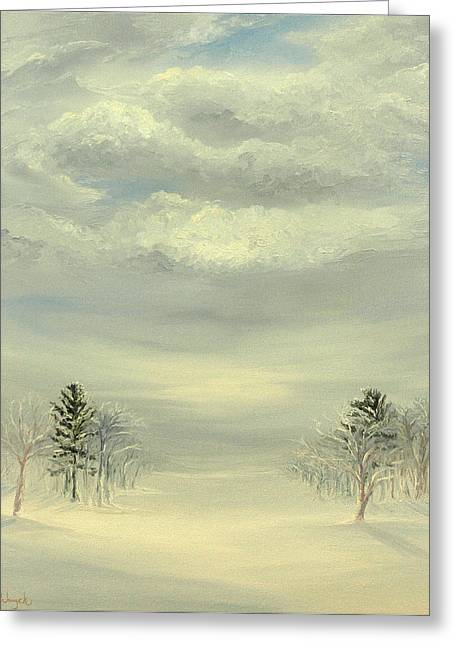 Soul Of Winter Greeting Card by Deserie Waryck