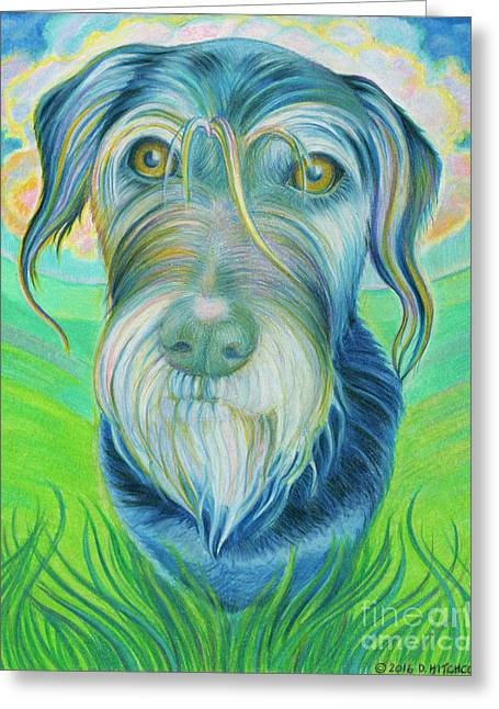 Soul Portrait Of Digby Greeting Card