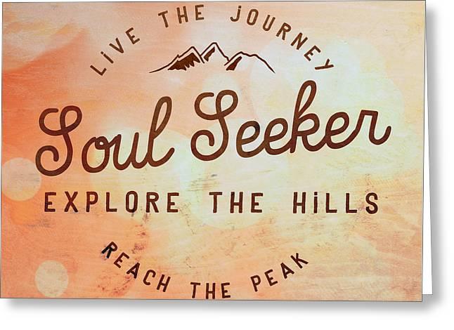 Soul Seeker 1 Greeting Card by Brandi Fitzgerald