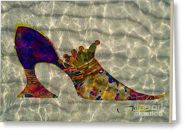 Soulful Soles Greeting Card