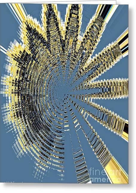 Sound Explosion Greeting Card by Marlena Nowaczyk