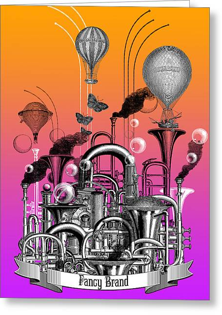 Sound Factory Greeting Card by Denys Golemenkov