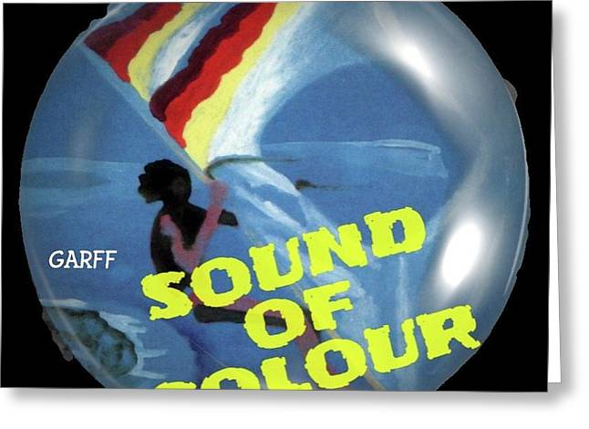 Sound Of Colour Greeting Card