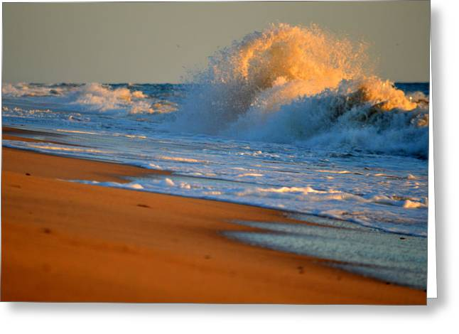 Sound Of The Surf Greeting Card by Dianne Cowen