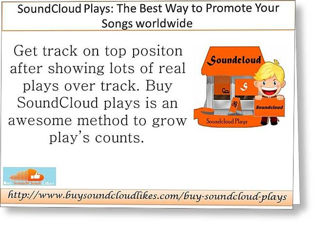 Get real greeting cards page 2 of 2 fine art america soundcloud plays the best way to promote your songs worldwide greeting card m4hsunfo