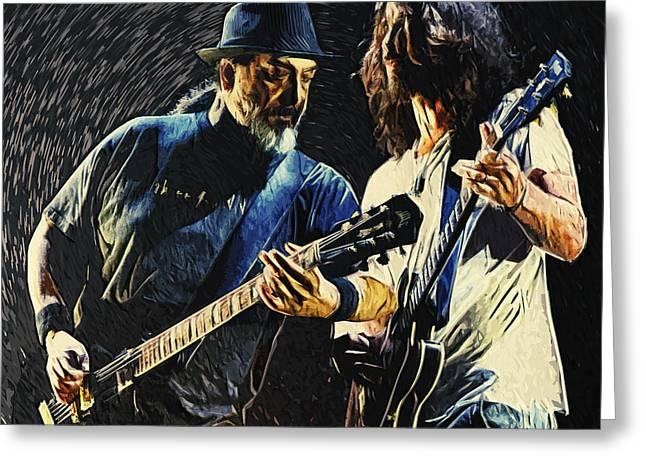 Soundgarden Greeting Card