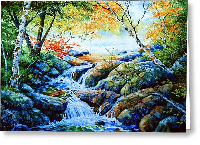 Sounds Of Silence Greeting Card by Hanne Lore Koehler