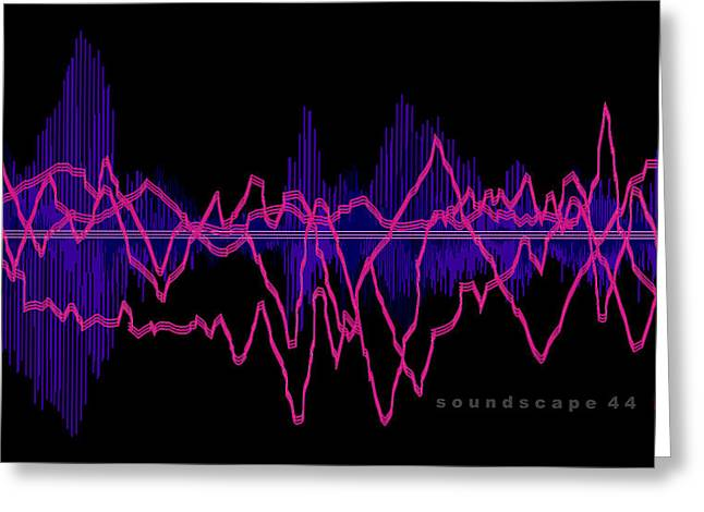 Soundscape 44 Greeting Card