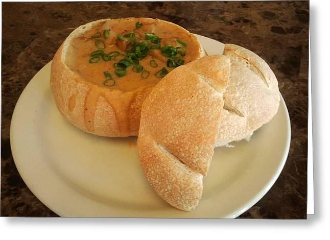 Sourdough Bread Bowl Greeting Card