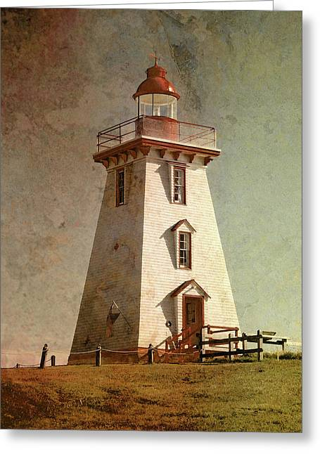 Souris Lighthouse 4 Greeting Card