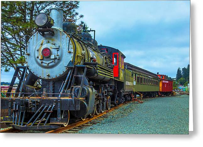 Sourthern Pacific Lines Number 90 Greeting Card by Garry Gay
