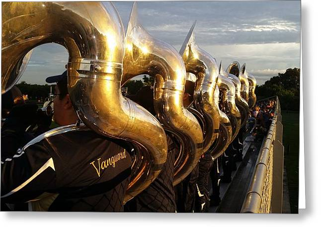 Sousaphone Central Greeting Card