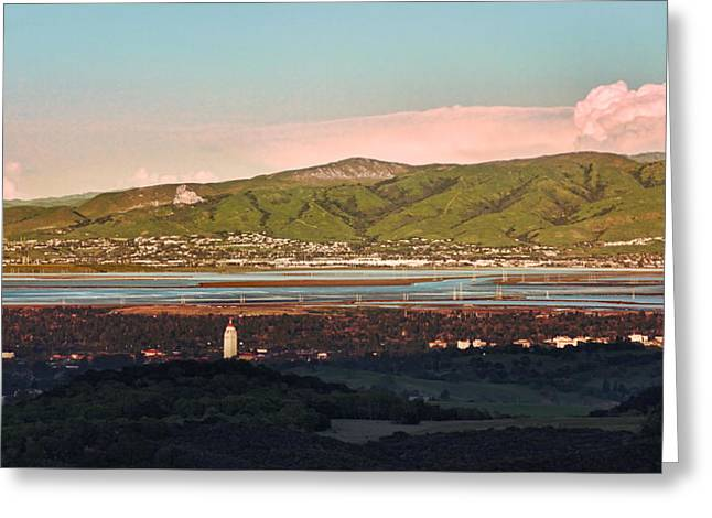 South Bay With Stanford Greeting Card