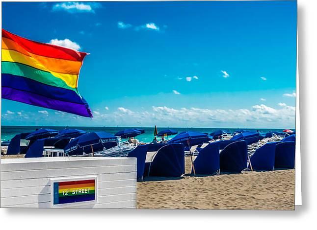 South Beach Pride Greeting Card