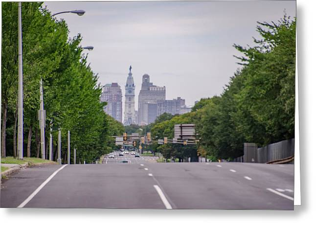 South Broad Street - Philadelphia Greeting Card