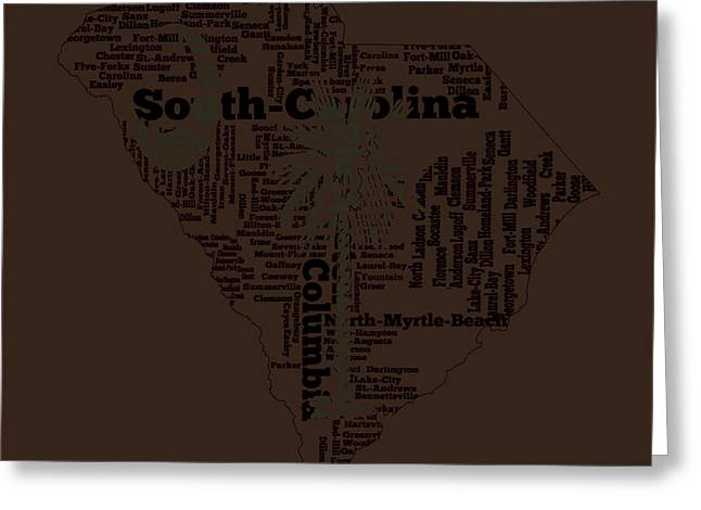 South Carolina 11a Greeting Card