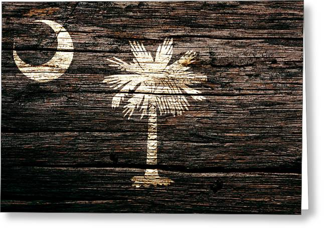 South Carolina 1a Greeting Card