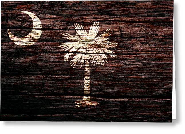 South Carolina 1b Greeting Card