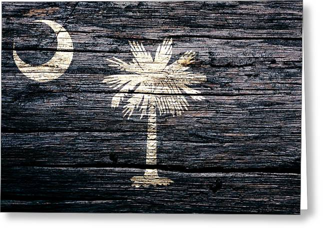 South Carolina 1c Greeting Card