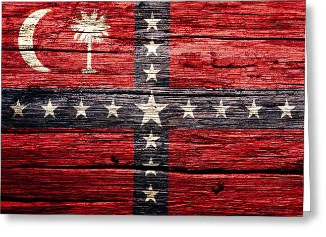 South Carolina Sovereignty Secession Flag 2w Greeting Card