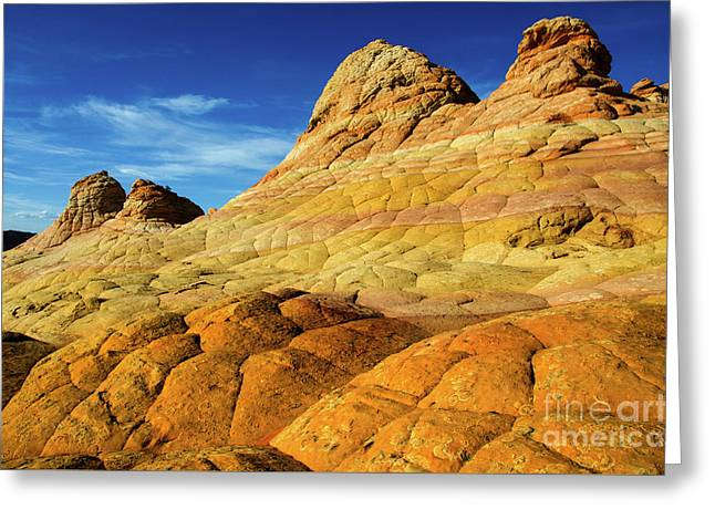 South Coyote Buttes Arizona 2 Greeting Card by Bob Christopher