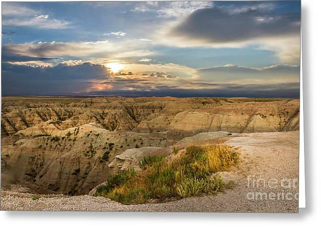 South Dakota Sunrise Greeting Card