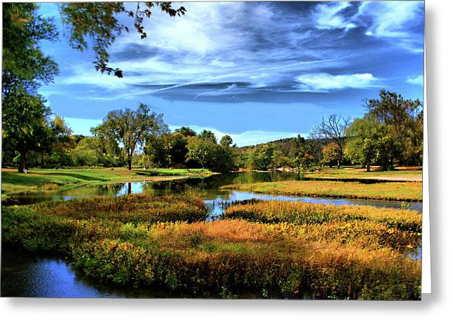 Greeting Card featuring the photograph South Fork River by Rick Friedle