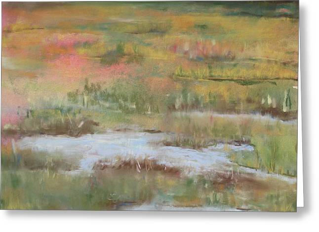 South Jersey Marsh Greeting Card