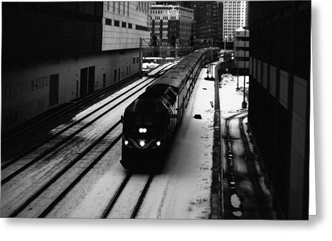 South Loop Railroad Greeting Card