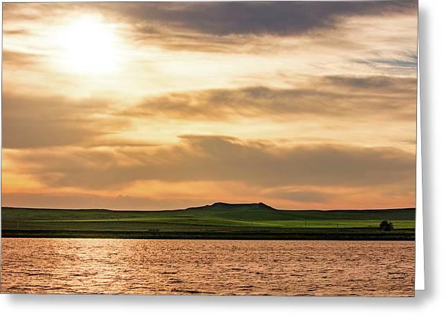 South Sandstone Reservoir Greeting Card