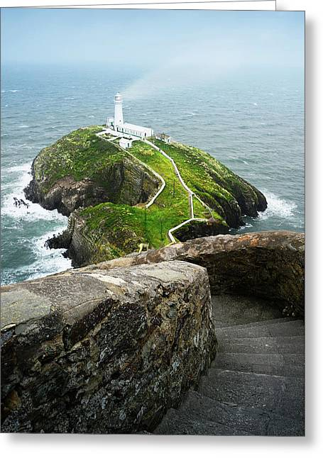 South Stack Lighthouse Greeting Card
