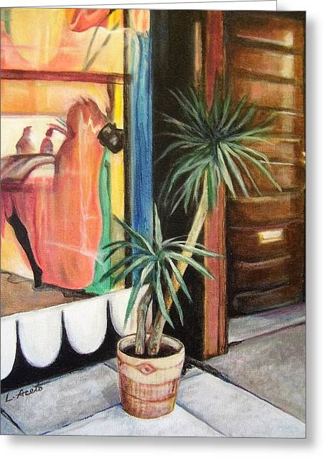 South Street Reflections Greeting Card