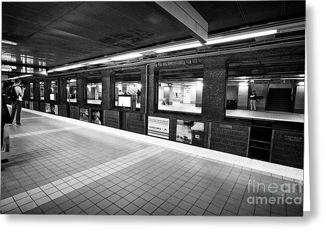 South Street Station Boston Usa Greeting Card