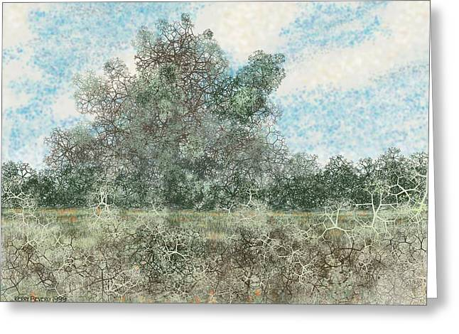 South Texas Brush Country I Greeting Card