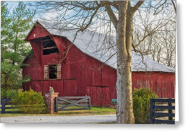 Southall Road Red Barn Greeting Card