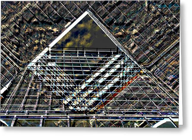 Southbank London Abstract Greeting Card