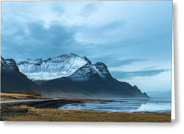 Southeast Iceland Countryside Greeting Card by Scott Cunningham