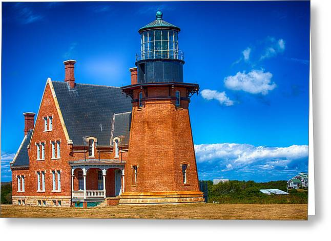 Southeast Lighthouse Greeting Card by Karol Livote