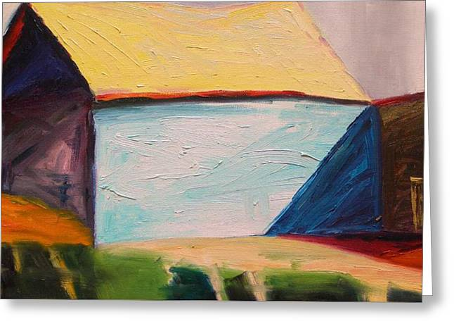 Southern Barn Greeting Card by John Williams