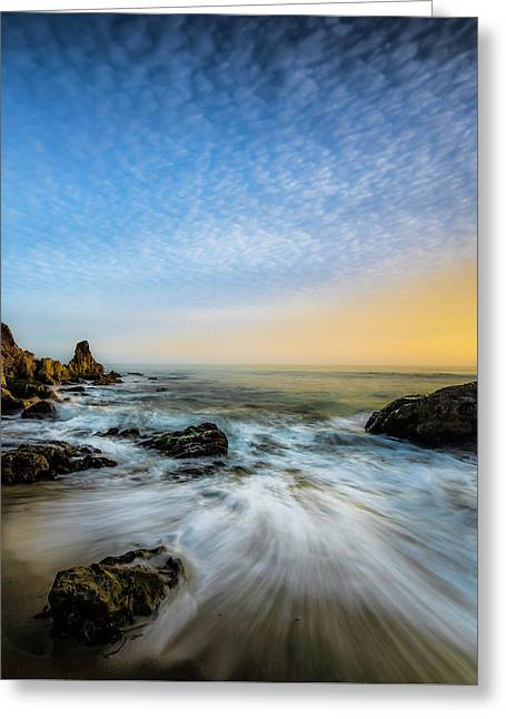 Southern California Sunset Greeting Card