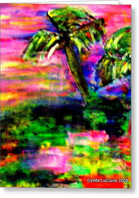 Southern Discomfort Greeting Card by Cynda LuClaire