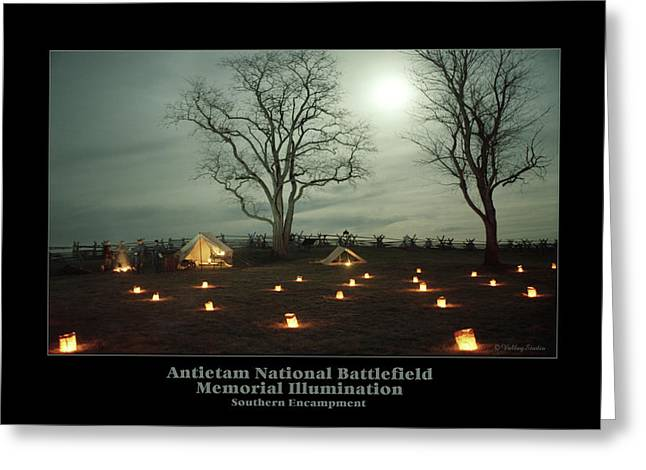 Luminaries Greeting Cards - Southern Encampment 90 Greeting Card by Judi Quelland