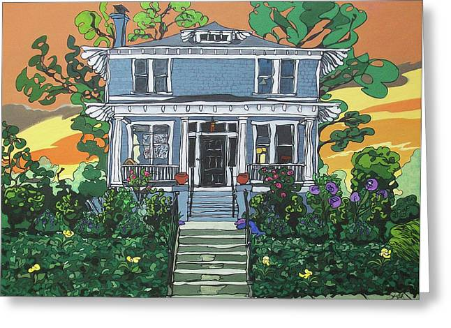 Southern Home II Greeting Card