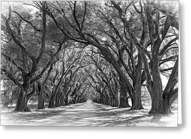 Southern Journey 2 - Vignette Greeting Card
